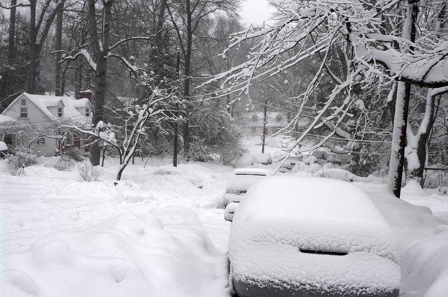 February 2010 record blizzard in the North Jersey Area